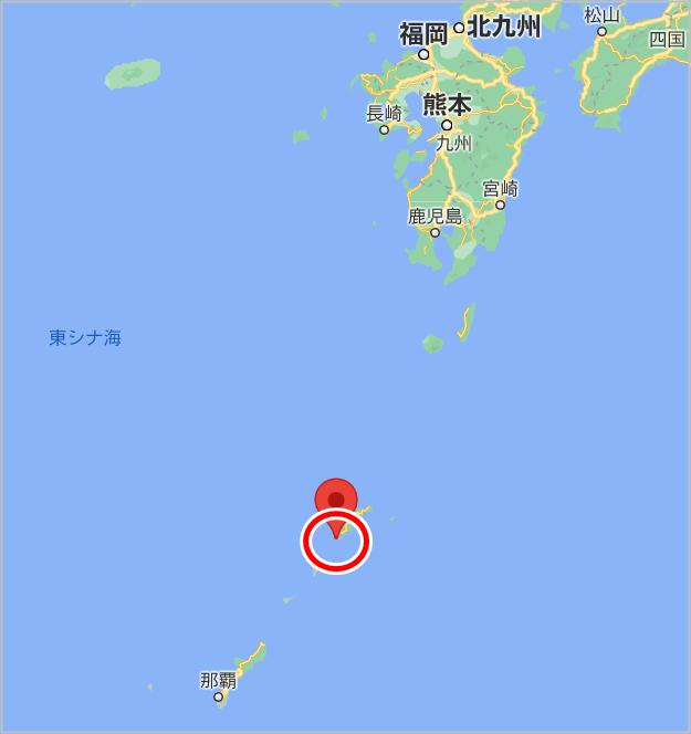 加計呂麻島 地図 場所 どこ