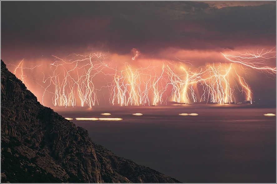 マラカイボ湖 音がない 雷画像 多発地帯