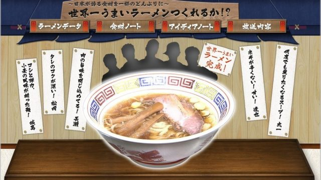 TOKIO 世界一ラーメン 小麦 塩