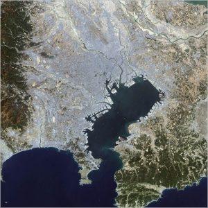 東京海底谷 場所 地図 確認